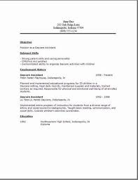 Daycare Resume Delectable Daycare Assistant Resumeexamplessamples Free Edit With Word
