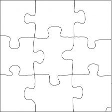 Puzzle Piece Template Impressive Blank Puzzle Pieces Template Best Of Jigsaw Puzzle Template Metalrus