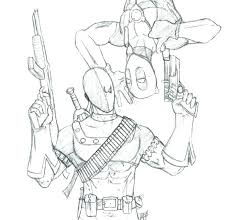 Deadpool Coloring Pages 698 Coloring Pages Formidable Deadpool