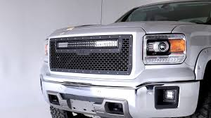 2014 Gmc Sierra Led Fog Lights 2014 2015 Gmc Sierra 1500 Led Fog Light Kit By Rough Country