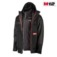 Milwaukee Vest Size Chart M12 Heated Axis Jacket With Gridiron Layer Milwaukee Tool