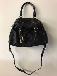 marc by marc jacobs large classic q groove satchel luxury black pebbled leather