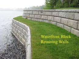 Small Picture lake sea walls Retaining Walls Waterfront Marine