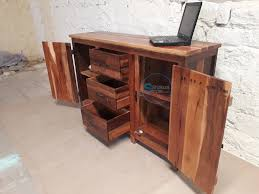 industrial reclaimed furniture. Handmade Reclaimed Wood SideBoard Industrial Furniture E