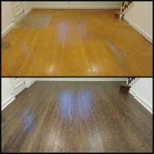 photo of dustless hardwood floors collingswood nj united states before and after