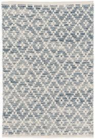 dash and albert melange diamond woven blue area rug