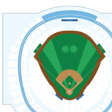 Rogers Skydome Seating Chart Rogers Centre Interactive Baseball Seating Chart
