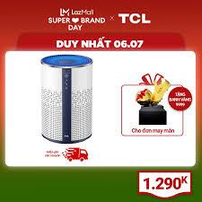Giá bán | 【Siêu lọc bụi bẩn】Máy lọc không khí TCL KJ120F-A1 - Kích thước  phòng 20m² - Bộ lọc Hepa H13 - Bộ lọc 3 lớp - Loại bỏ bụi bẩn