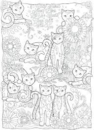 Cat Coloring Pages To Print Coloring Book Printing Coloring Book To