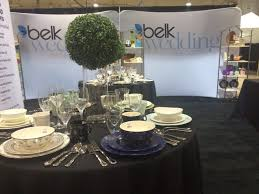 belks wedding gift registry at a forever bridal wedding show