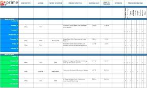 Email Marketing Calendar Template 3 Content Planning For