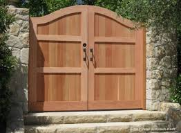 Small Picture 37 best Redwood Gates images on Pinterest Gate design Fencing