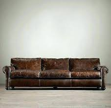 leather sofa distressed living room couches used ralph lauren furniture fabric ottoman for upholstery dea