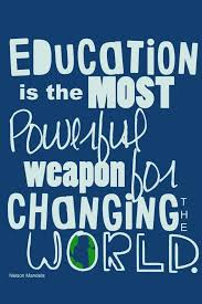 Quotes About Education Simple Nelson Mandela On Education Education Quote Classroom