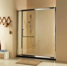 trackless shower doors bathtub doors home depot trackless sliding shower doors frameless sliding shower doors for