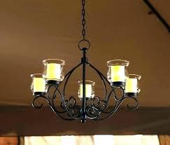 gazebo chandelier solar outdoor plug in for gazebos chandeliers