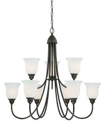 vaxcel h0065 concord 9 light chandelier oil rubbed bronze finish be the first to write a review about this picture 1 of 1