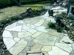flagstone over concrete patio concrete laying cost installing flagstone patio over concrete cost to install flagstone