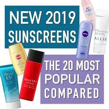 Guide To The New Japanese Sunscreen Releases Of 2019