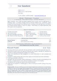 Buyer Resume Sample Rare Buyer Resumebjective Template Retail Example Planner Sample 4