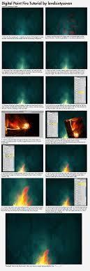 Digital Paint Fire Tutorial! by level67 on DeviantArt