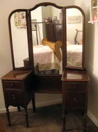 brown makeup vanity luxury classic dark brown wooden mirrored makeup vanity sets for corner