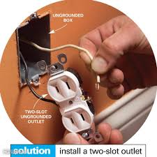 wiring outlets and switches the safe and easy way the family don t install a three slot receptacle out a ground