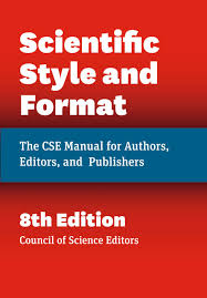 Buy Scientific Style And Format The Cse Manual For Authors