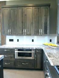 gray stained kitchen cabinets black grey finish maple gray stained kitchen cabinets grey black pictures gel