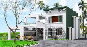 Low Cost Contemporary Kerala Home Design at sq ft