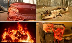 California's Camp Fire inferno survivors reveal how their cars and ...