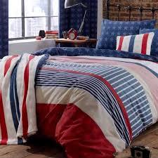 catherine lansfield home stars and stripes duvet cover set multi single