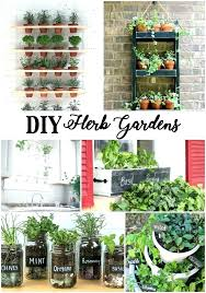 diy indoor hydroponic herb garden homemade herb garden fresh herbs are the best for cooking grow your own with these adorable homemade herb garden home