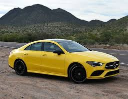 A modernized interior joins a solid and playful chassis. 2020 Mercedes Benz Cla250 Mercedes Amg Cla35 First Drive Bull Gear Patrol