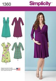 Maternity Dress Patterns Mesmerizing DIY Maternity Dress Has Flattering Twist And Gathered Detailing At
