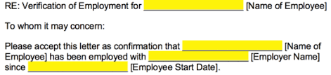 We have several employment verification letter templates, as well as employment verification sample letters and forms that you can download on this page on your own. Free Employment Income Verification Letter Pdf Word Eforms
