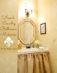 country bathroom designs 2013. French Country Bathroom Makeover Www.atthepicketfence.com Designs 2013