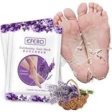 <b>efero 1pair</b>=<b>2pcs Feet</b> Exfoliating <b>Foot</b> Mask for <b>Legs</b> Lavender ...