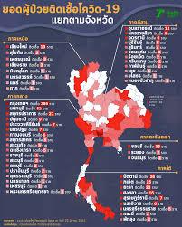 3 วันอันตราย ไทยติดเชื้อโควิดต่อเนื่อง ขึ้นอันดับ 32 โลก ระบาดเกือบทุกภาค