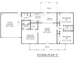 narrow house plans with 2 car garage floor plans for a 4 bedroom single story house