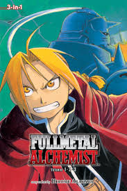 fullmetal alchemist in edition vol book by hiromu  fullmetal alchemist 3 in 1 edition vol 1 9781421540184 hr