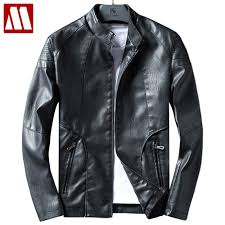 new leather jackets men autumn leather clothes solid er jackets for men business casual coats brand