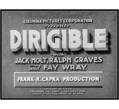 Image result for images of 1931 movie dirigible