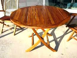 round wood outdoor table post reclaimed garden uk patio plans pallet tops outd