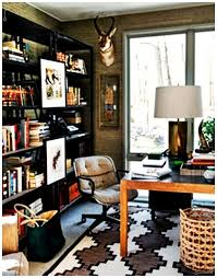 masculine home office. MASCULINE STYLE HOME-OFFICE (7) Masculine Home Office