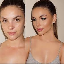 before and after work on this stunning model cheathh by mua josecorella vegas nay