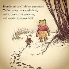 Promise Me You'll Always Remember Winnie The Pooh Musings Custom Christopher Robin Quotes