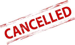 Image result for cancelled clip art