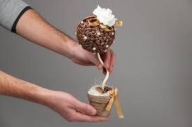 <b>Кофейный</b> топиарий: мастер-класс по созданию декора - статья ...