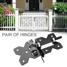 self closing vinyl fence gate hinges fencing spring close hinges door hardware